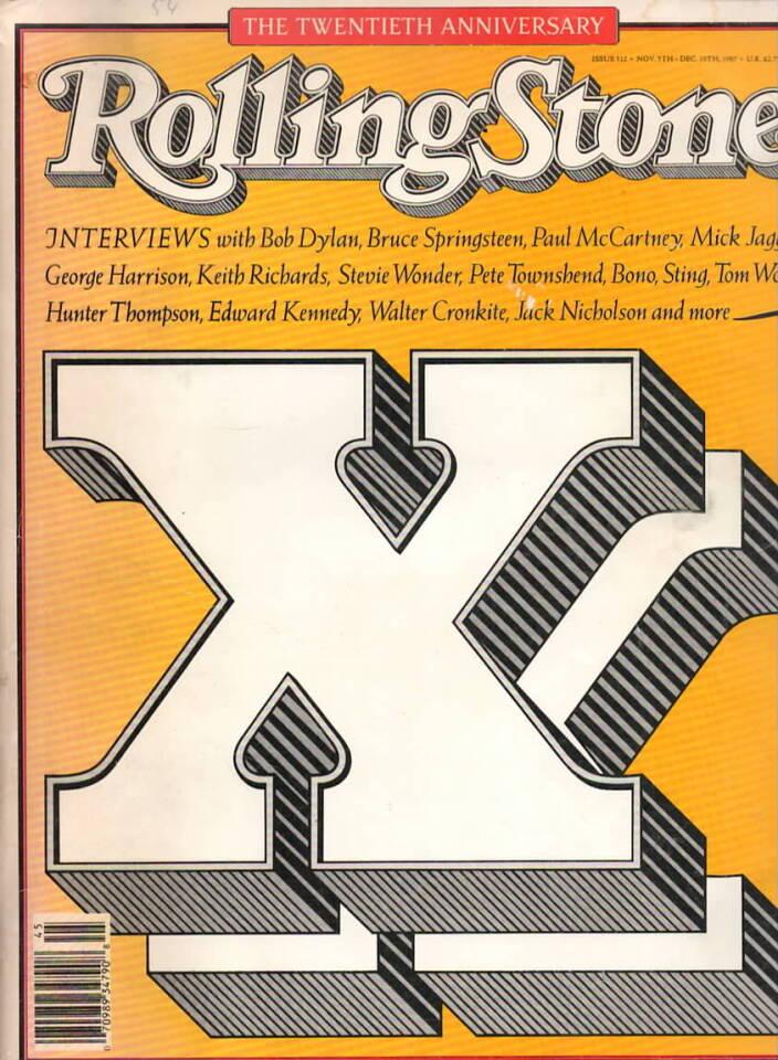 Rolling Stone – The Twentieth Anniversary