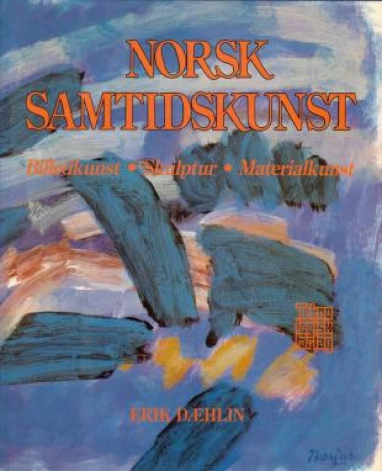 Norsk samtidskunst. Billedkunst. Skulptur. Materialkunst.