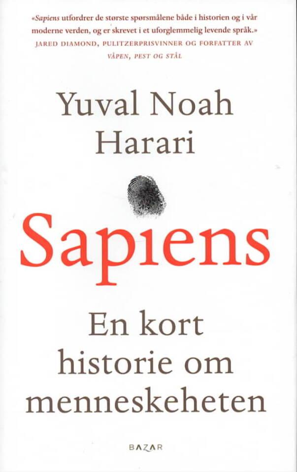 Sapiens – En kort historie om menneskeheten