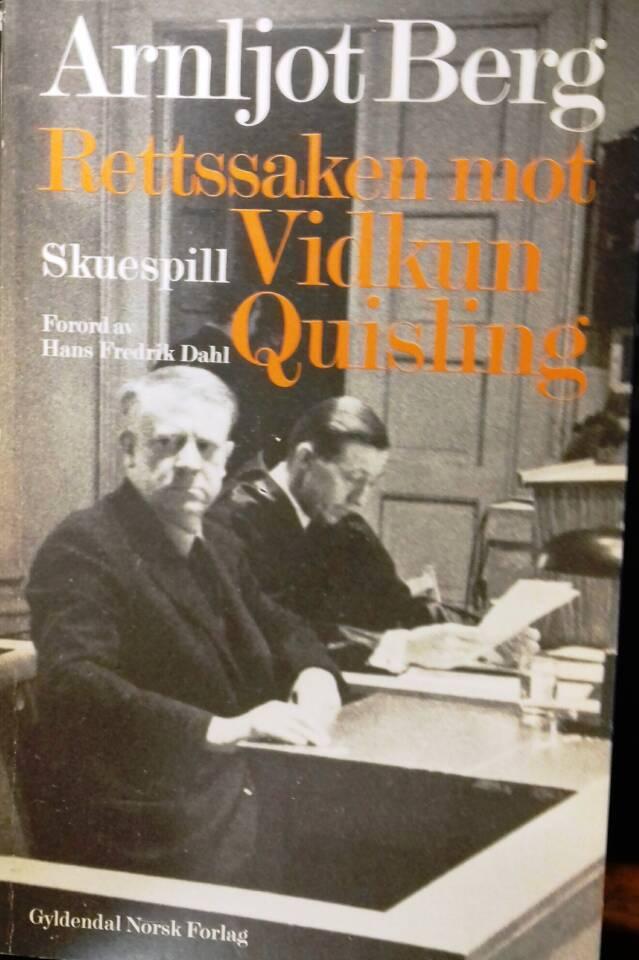 Rettsaken mot Vidkun Quisling