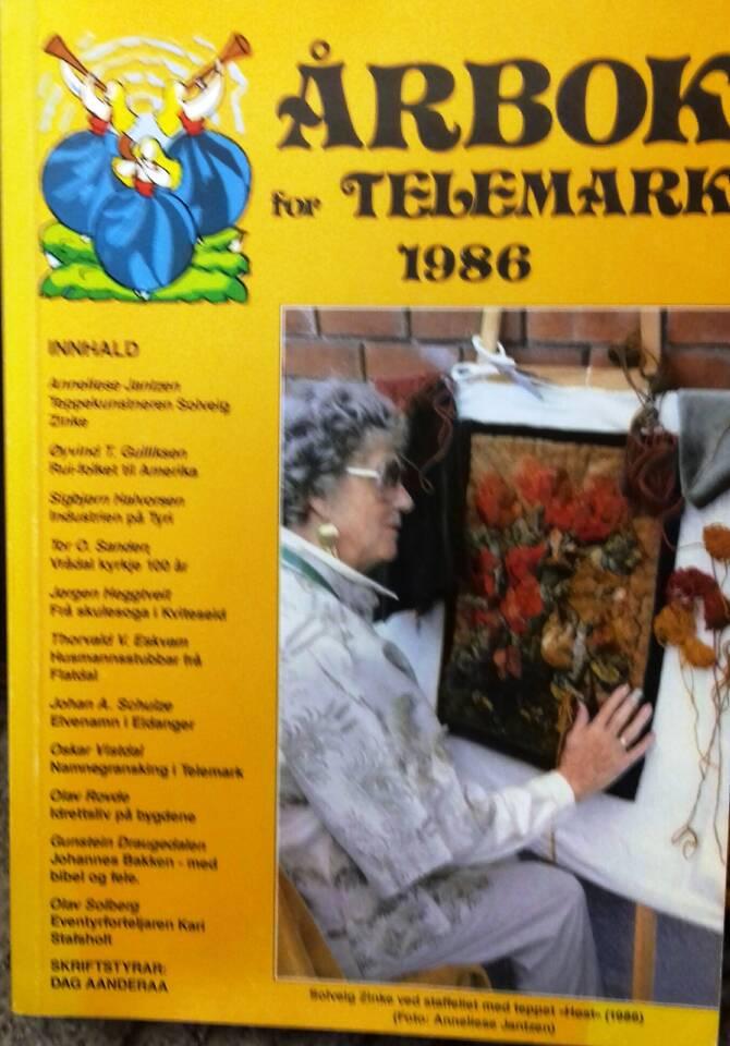 Årbok for Telemark 1986