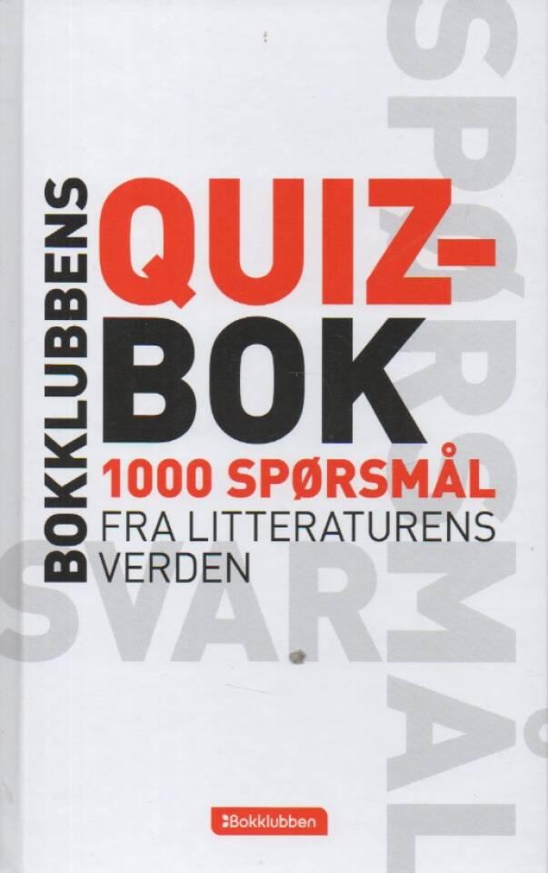 Quizbok – 1000 spørsmål fra litteraturens verden