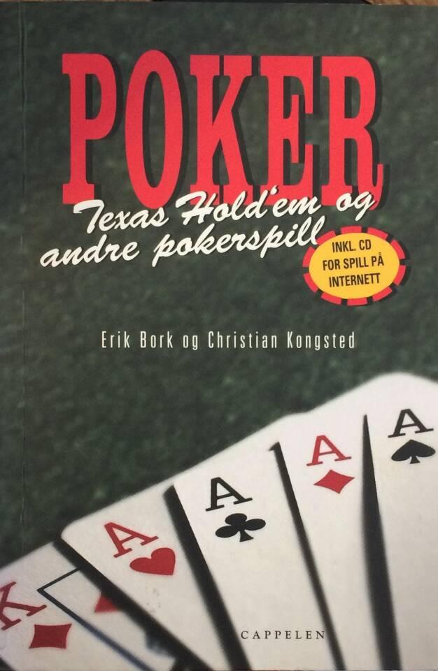 Poker Texas Hold'em og andre pokerspill