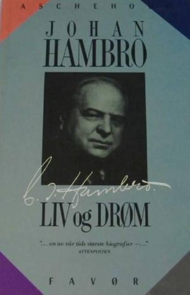 C. J. Hambro Liv og død