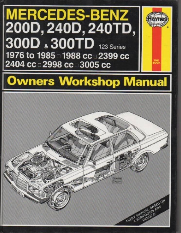 Mercedes-Benz 200D, 240D, 240TD, 300D & 300 TD – 1976 to 1985
