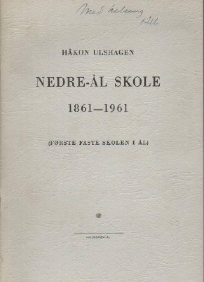 Nedre-Ål skole 1861-1961