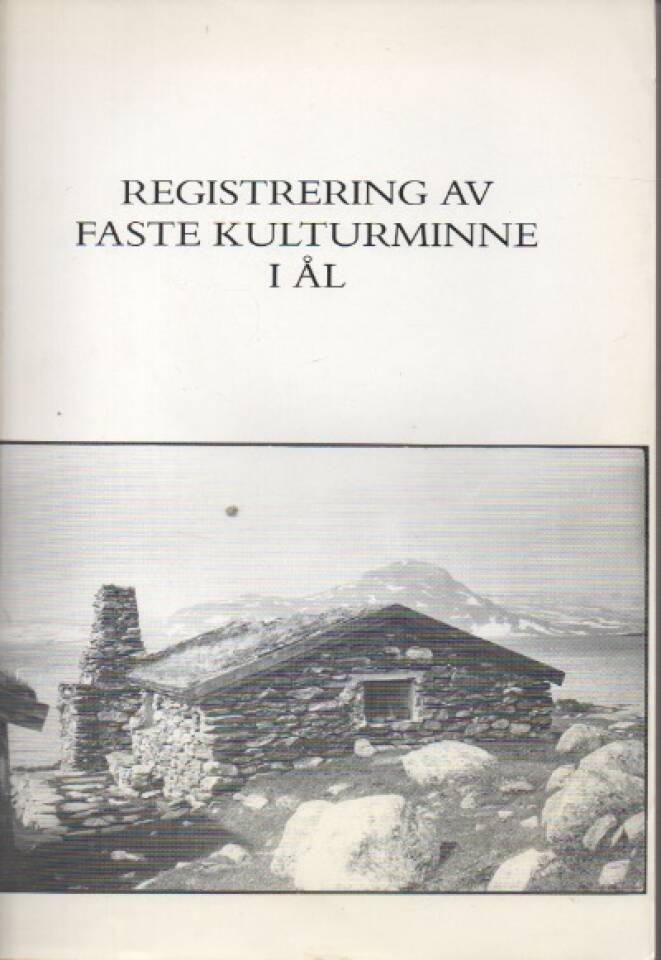 Registrering av faste kulturminne i Ål