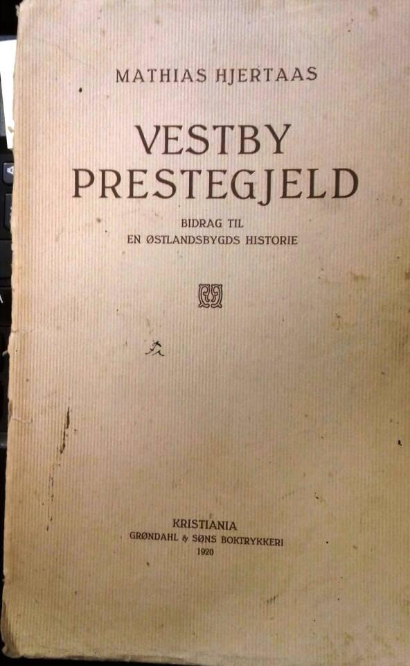 Vestby prestegjeld