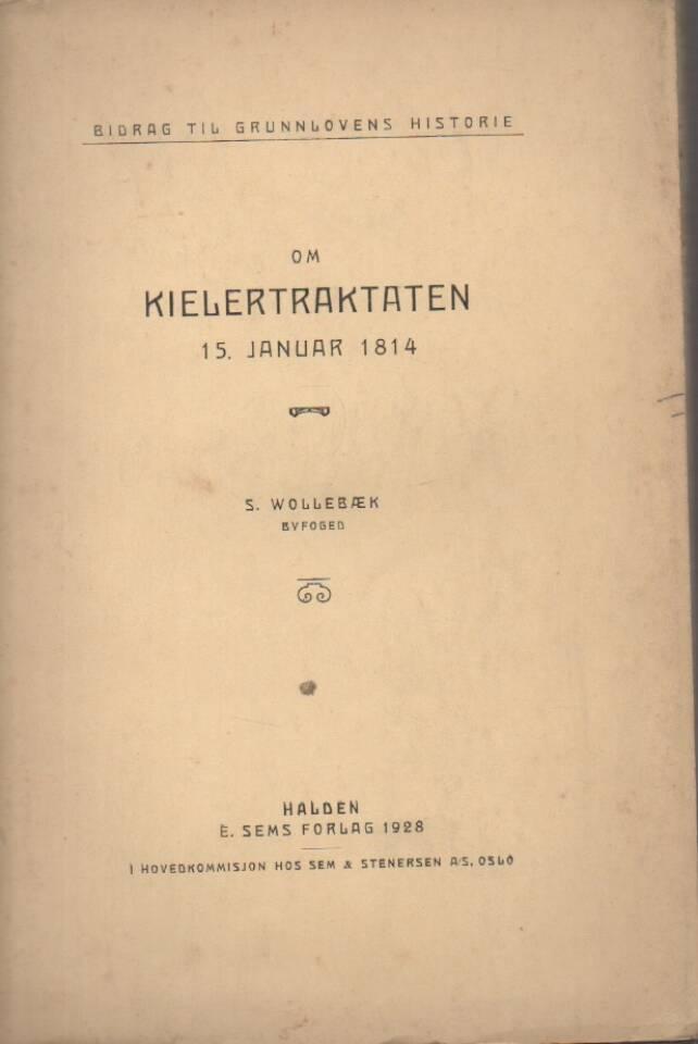 Om Kielertraktaten – 15. januar 1814