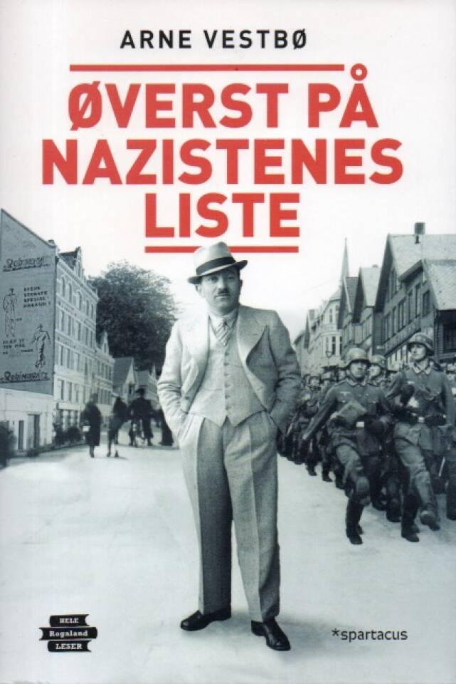 Øverst på nazistenes liste