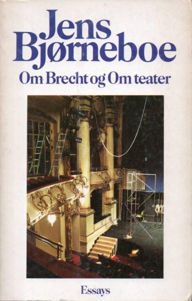 Om Brecht og Om teater