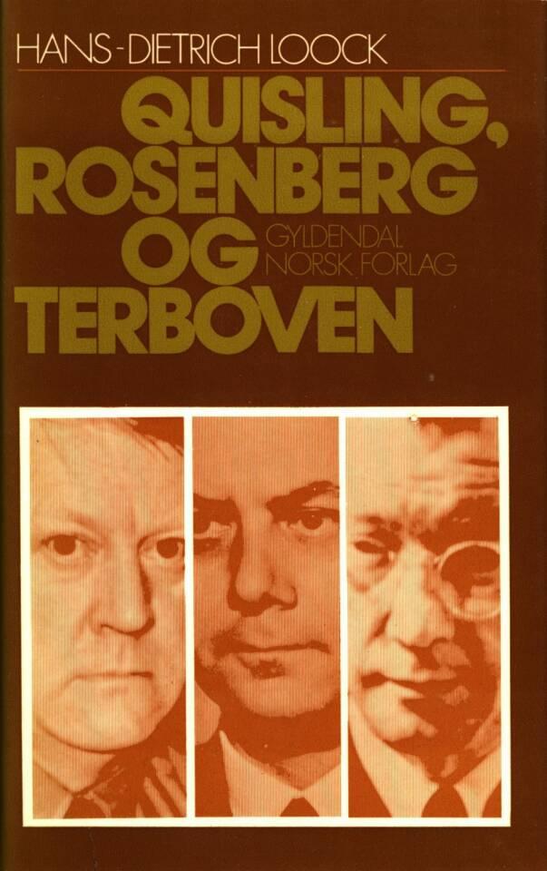 Quisling, Rosenberg og Terboven