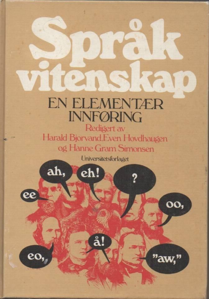 Språk vitenskap en elementær innføring