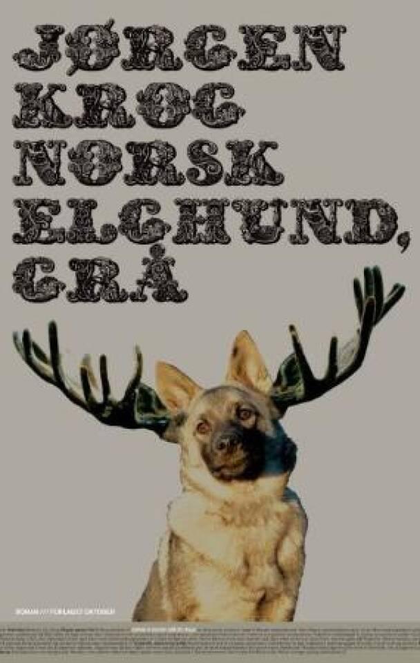 Norsk elghund, grå