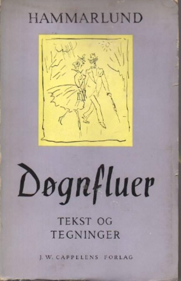 Døgnfluer – Tekst og tegninger av Hammarlund