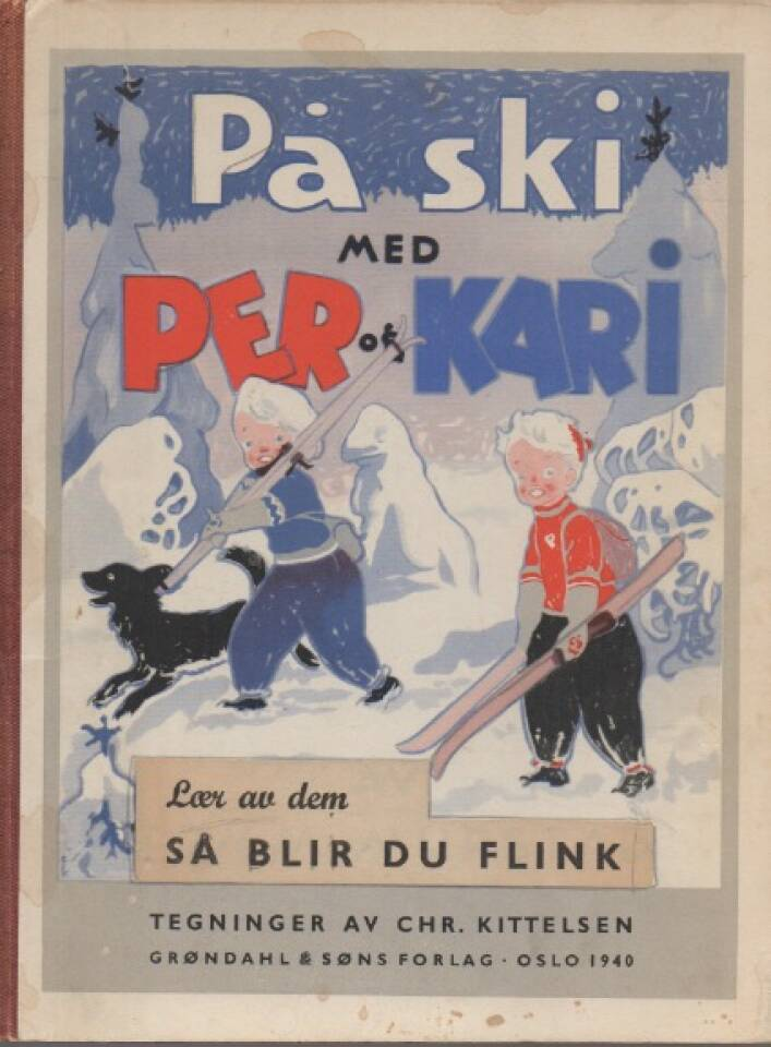 På ski med Per og Kari – Lær av dem så blir du flink