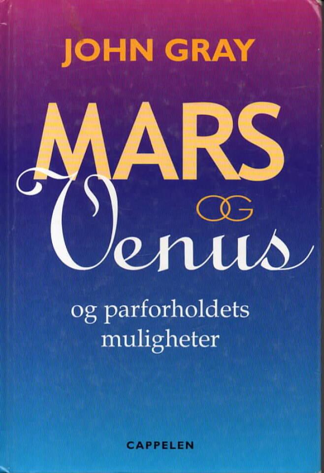 Mars og Venus – og parforholdets muligheter