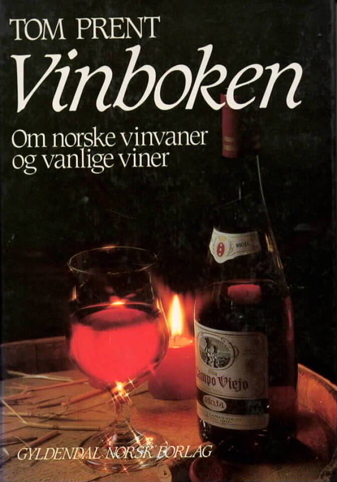 Vinboken – om norske vinvaner og vanlige viner