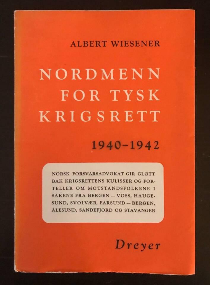 Nordmenn for tysk krigsrett 1940-1942