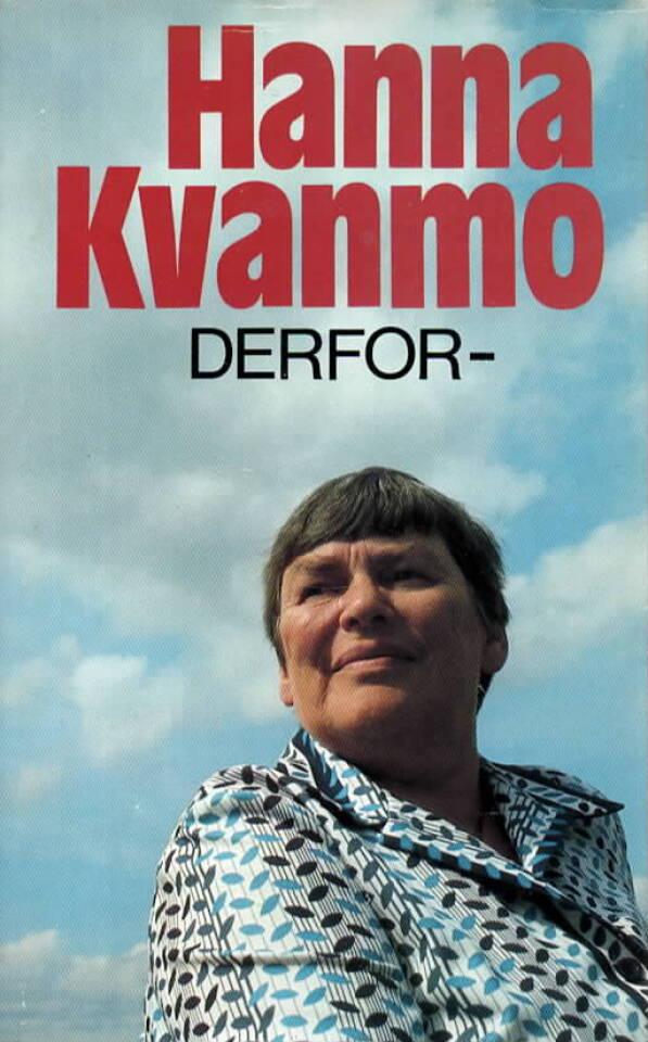 Derfor – Hanna Kvanmo