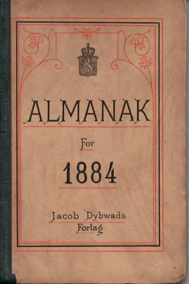 Almanak for 1884