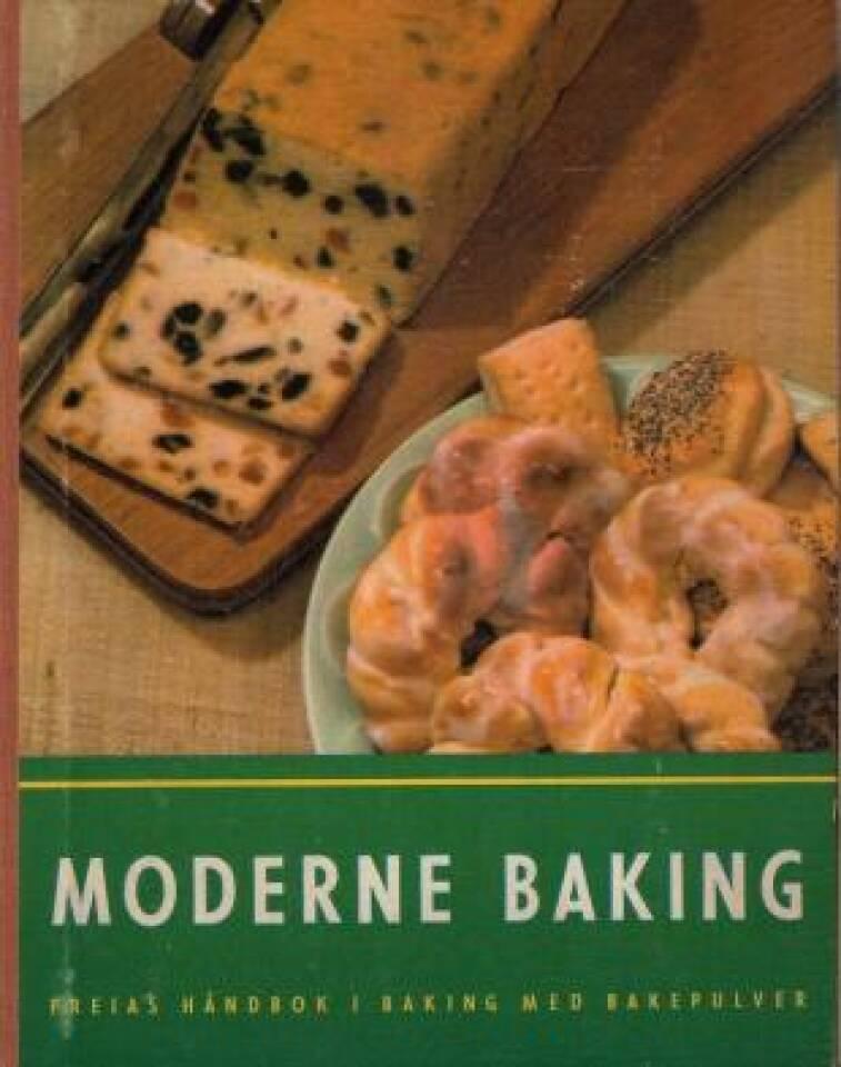 Moderne baking. Freias håndbok i baking med bakepulver.