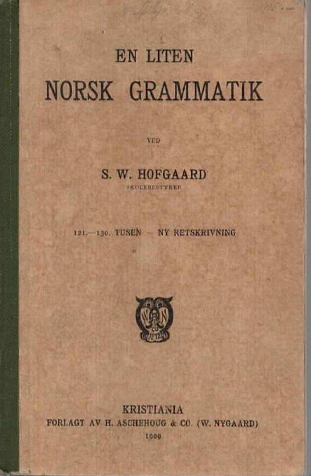 En liten norsk gramatik