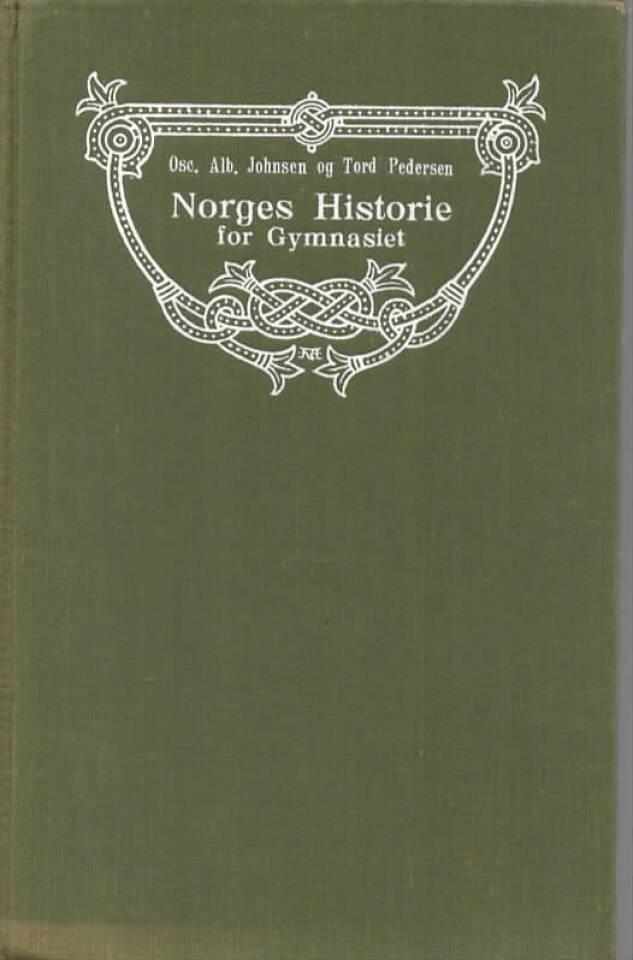 Norges Historie for Gymnasiet – Lærebok i Norges, Danmarks og Sveriges historie