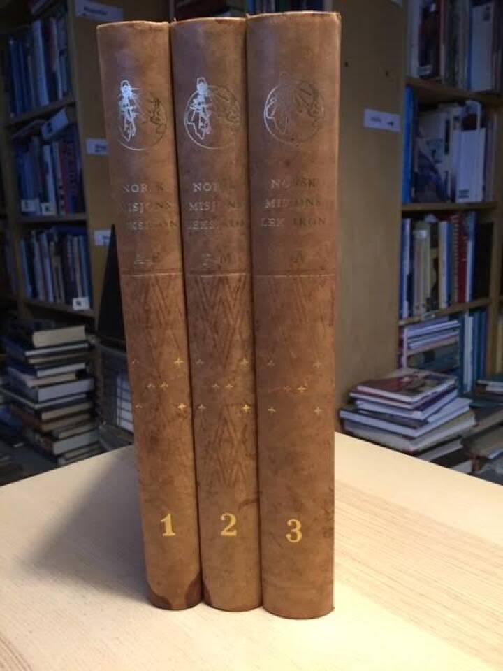 Norsk misjonsleksikon bind I-III