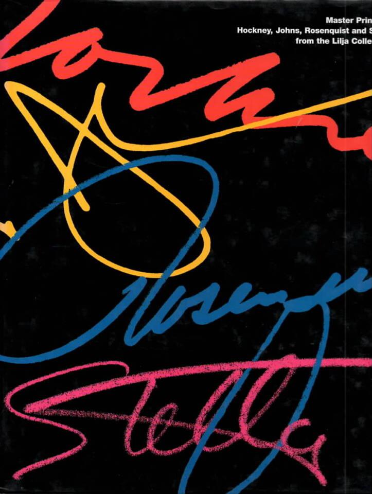 Masterprint by Hockney, Johns, Rosenquist and Stella