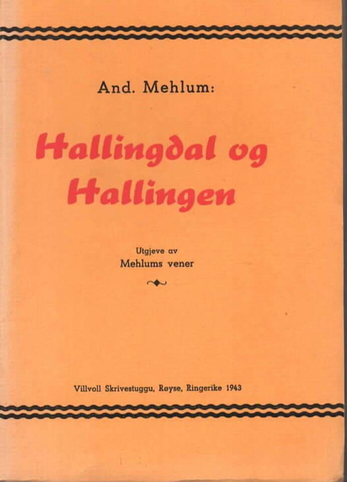 Hallingdal og Hallingen