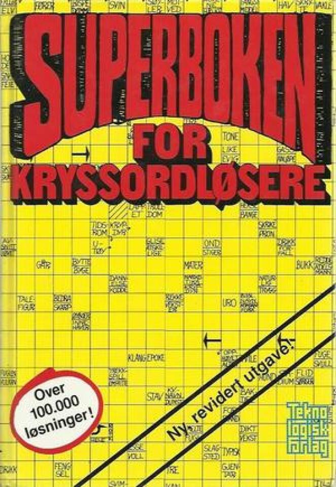 Superboken for Kryssordløsere