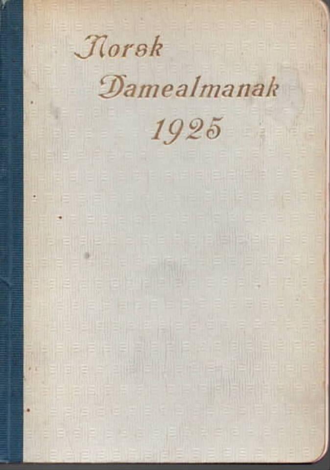Norsk Dame-almanak 1925