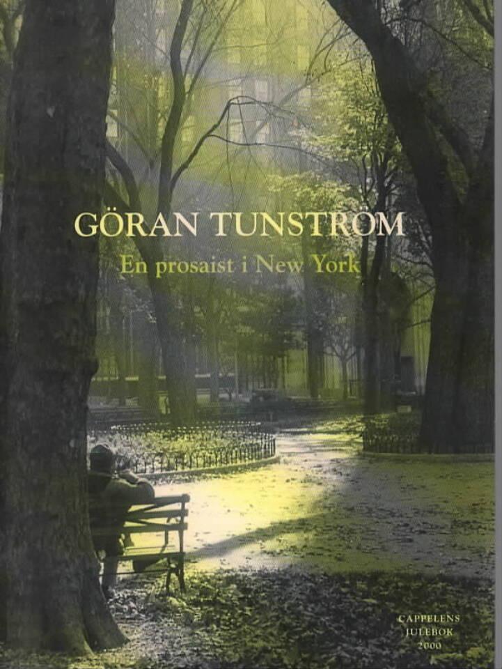 En prosaist i New York
