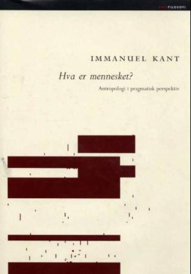 Hva er et menneske? Antropologi i pragmatisk perspektiv