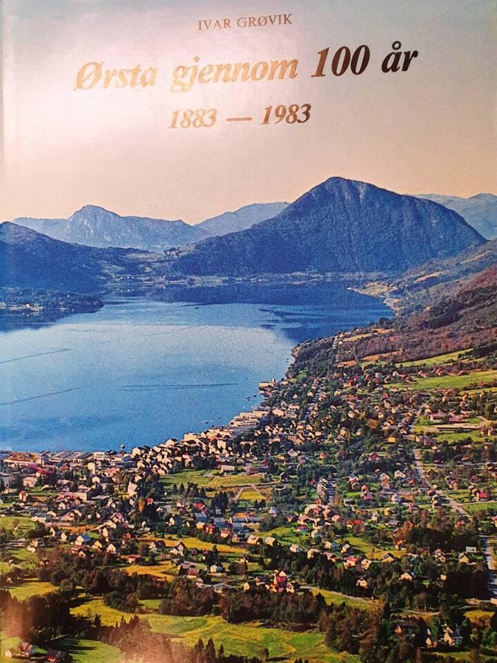 Ørsta gjennom 100 år 1883 - 1983