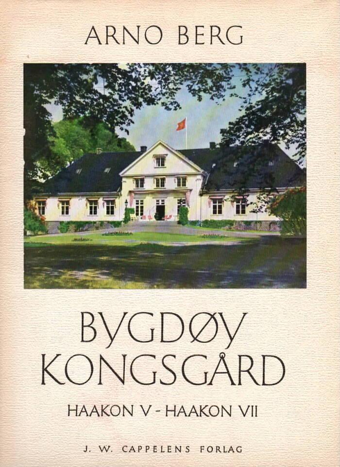 Bygdøy kongsgård Haakon V-Haakon VII