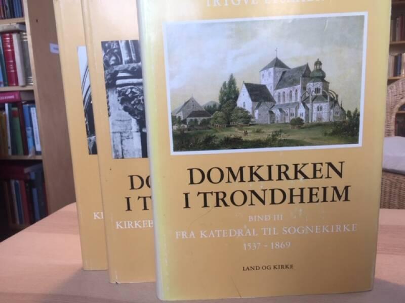 Domkirken i Trondheim Bind I-III