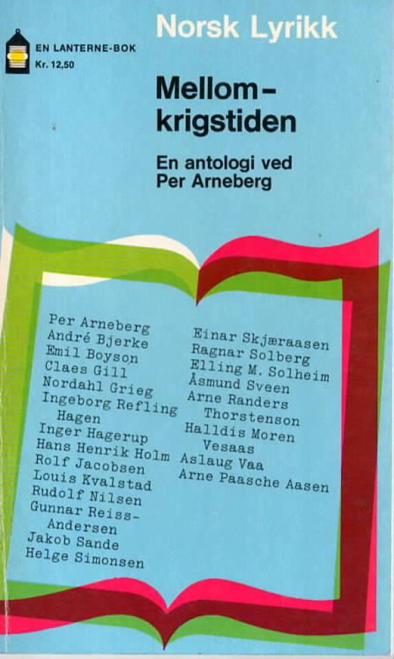 Norsk Lyrikk – Mellomkrigstiden