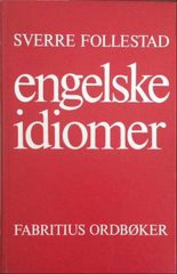 engelske idiomer