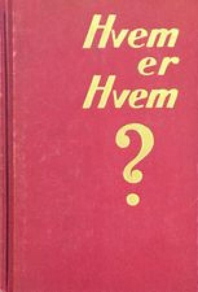 Hvem er hvem? 1948