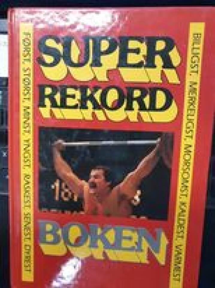 Superrekord boken