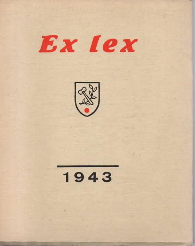 Ex lex – Bordklubbens årsskrift 1943