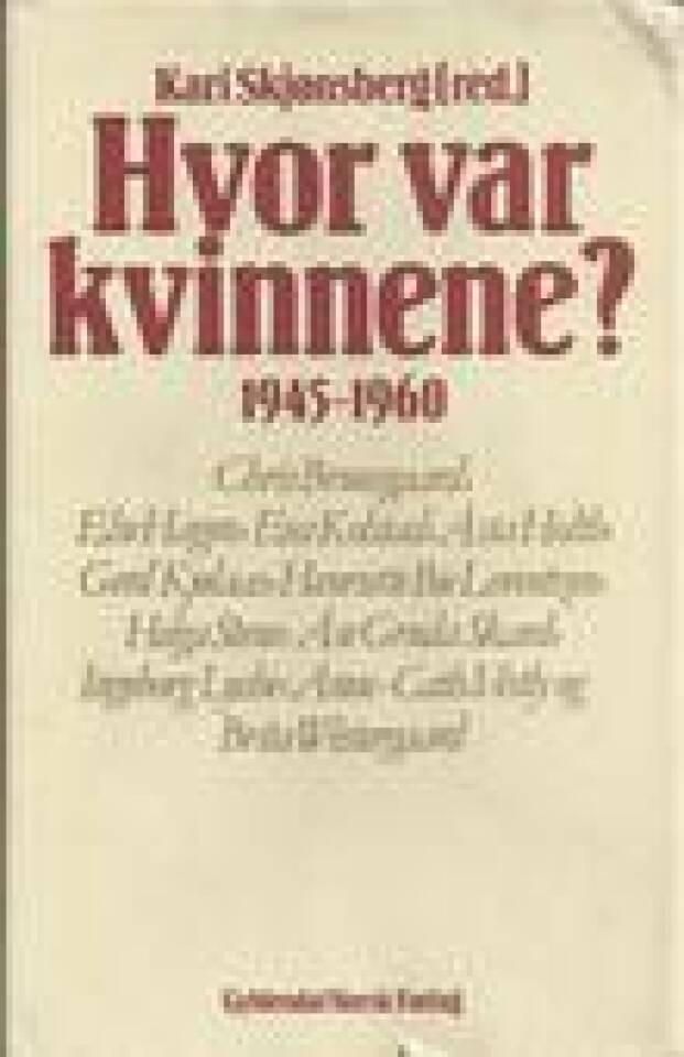 Hvor var kvinnene? 1945-1960