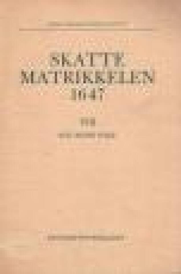 Skattematrikkelen 1647