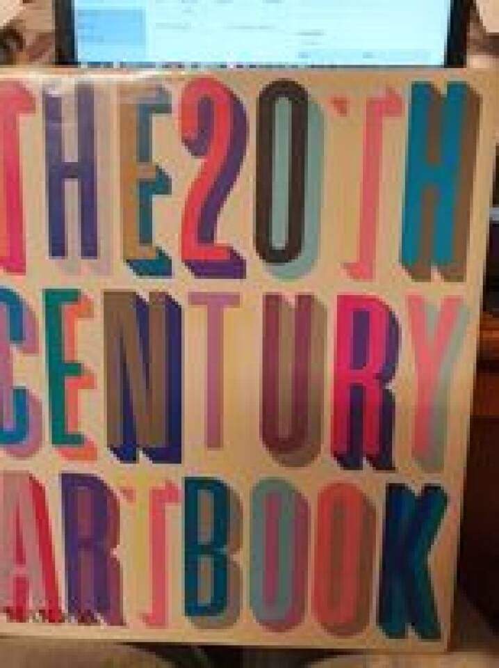 The 20th century artbook
