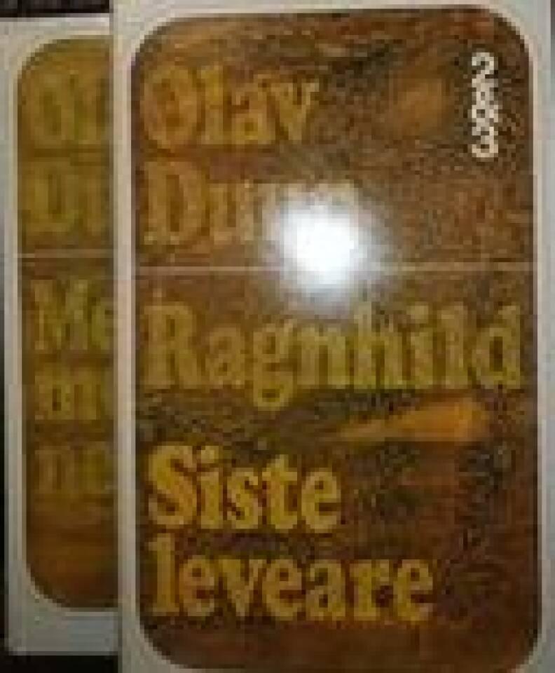 Medmenneske/Ragnhild/Siste leveåre