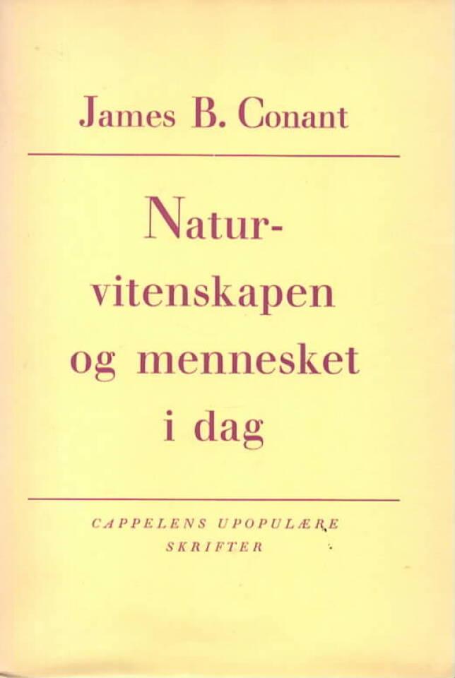Naturvitenskapen og mennesket i dag