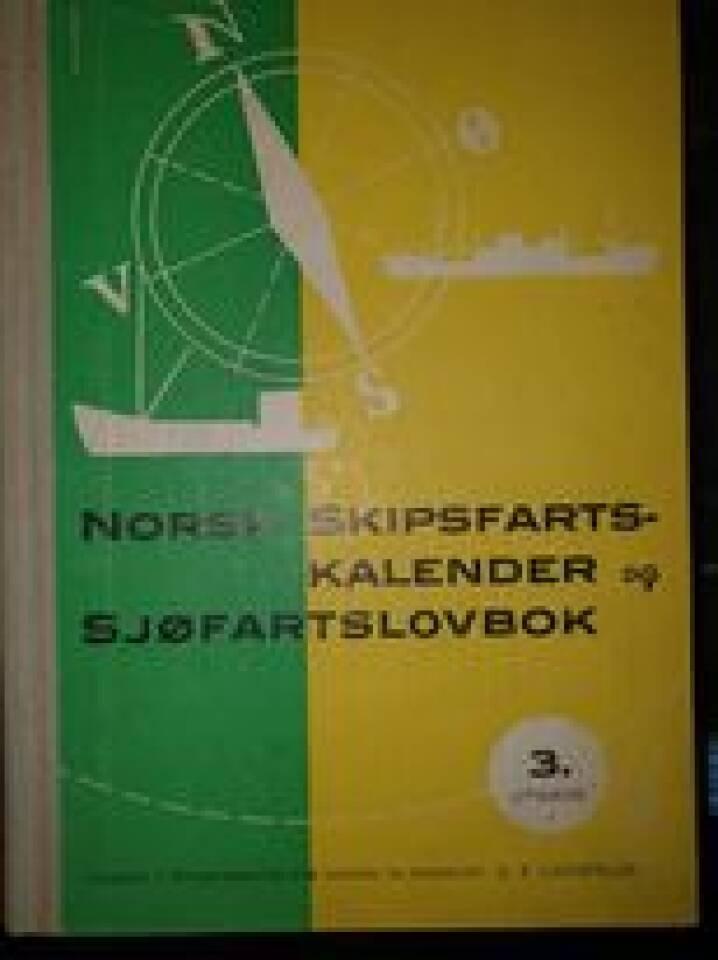 Norsk skipsfartskalender og sjøfartslovbok