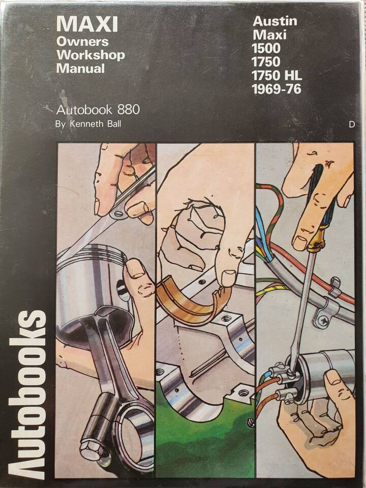 Autobooks. Austin Maxi 1500. Autobook 880.